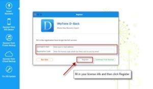 iMyFone D-Back 8.0.0 Crack + Registration Code (Mac/Win) Download